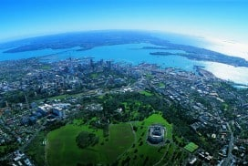 Ankunft in Neuseeland
