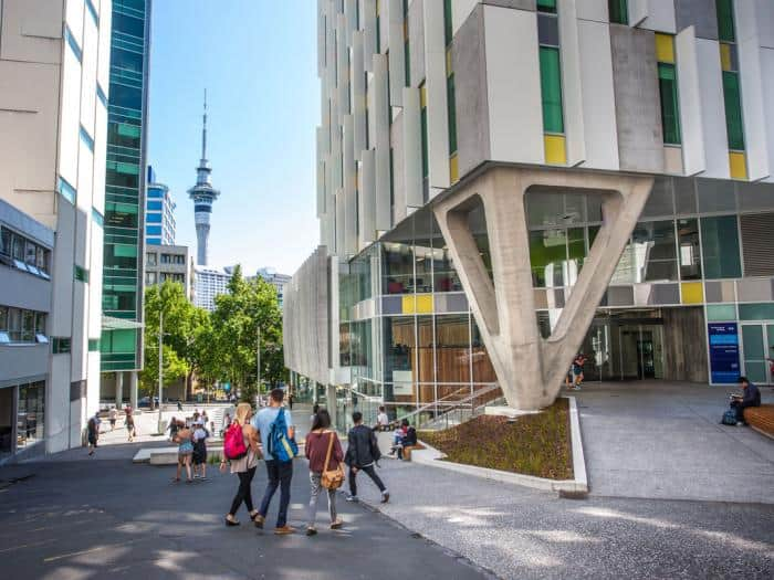 Auckland University of Technology - Studium an der Auckland University of Technology