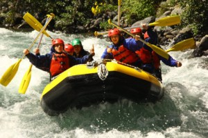 Waihi College Neuseeland White Water Rafting