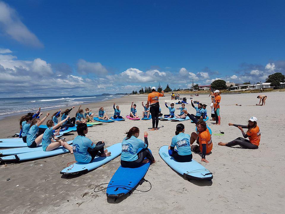 Waihi College Neuseeland Surfing